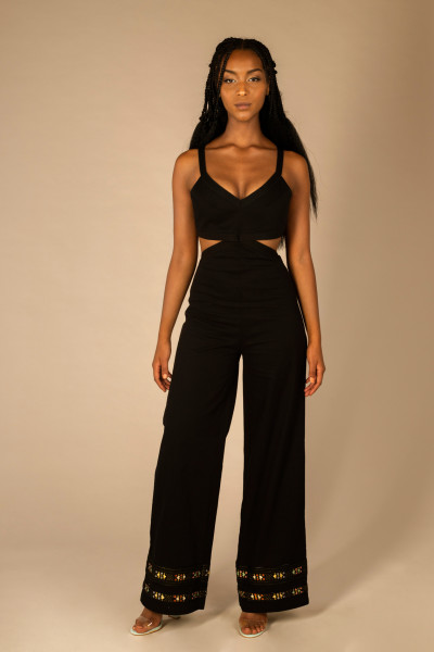 CUT OUT DETAIL JUMPSUIT